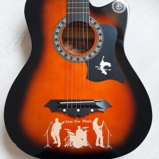 Chitara acustica Jervis 3/4, orange